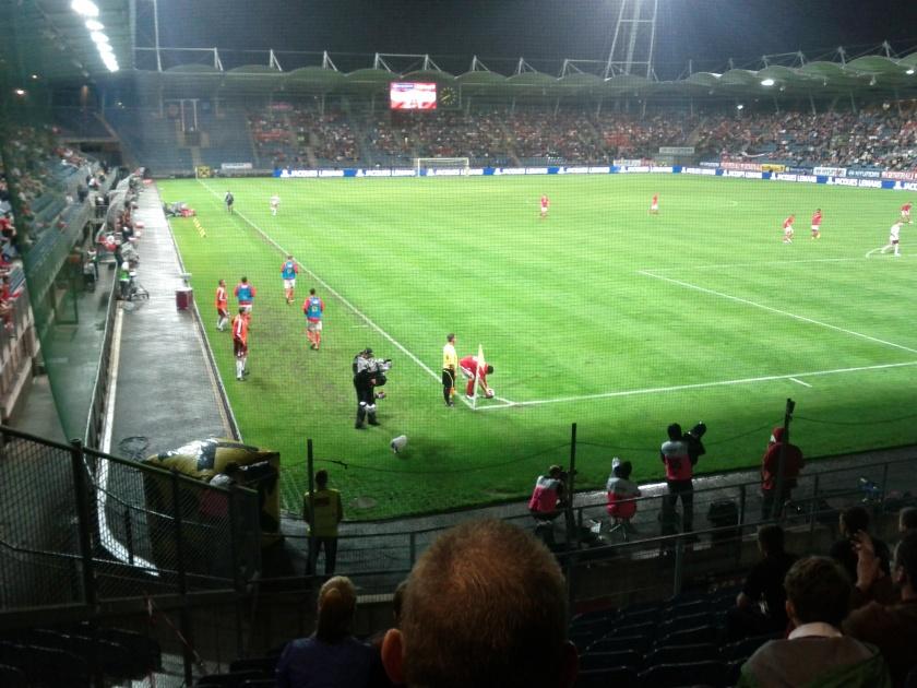 Österreich Lettland UPC Arena